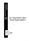 ViewPoint 1: Do Corporations Have Social Responsibility?: Edited by Parth J Shah