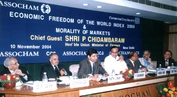 Economic Freedom of The World Index 2004 Launch